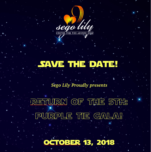 5th Purple Tie Gala 2018!